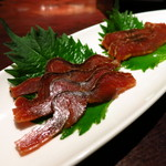 手作り料理と地酒 おと - 村上鮭の酒浸し(720円)