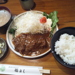 福よし - かつカレー(ランチ限定品)