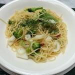 テラスレストラン ローズ - 料理写真:☆アオリイカとブロッコリーのペペロンチーノ