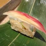 坂ノ下 田茂戸 - 笹巻き寿司の中身です