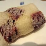 坂ノ下 田茂戸 - 紫芋のすかし揚げ