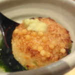 坂ノ下 田茂戸 - 茶漬けには香ばしい焼きおにぎりが入ってます