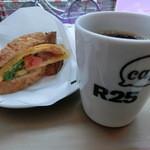 R25 cafe - ランチセット700円