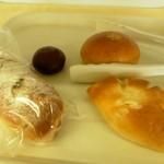 カスタネット - 料理写真:初訪問で購入したパン☆