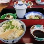 18895747 - 天婦羅定食(筍のちらし寿司)