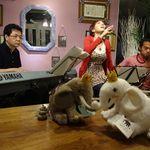 F*GICCO by F.gohan - 旬なミュージシャンライブの様子。フレンドリーな空間でライブというより自宅セッションのよう♪