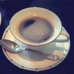 ローズダイニング - サンドウィッチセット ホットコーヒー
