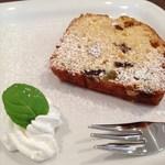 Puranku - パウンドケーキ(単品450円→コーヒーとのセットで100円引きの350)