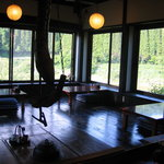 辻の茶屋 - 冬は囲炉裏が人気です。