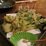 武志 - 山菜の天ぷら