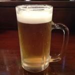 18902497 - 生ビールだす