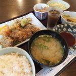 村田家 - くじらフライ定食¥900円