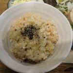 天然食堂 かふぅ - 玄米ごはん