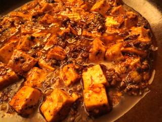 中国料理&ワイン yinzu - 麻婆豆腐アップ