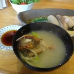 寿しのマス屋本店 - 栗蟹の味噌汁