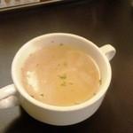 チャミスカレー - セットのスープ