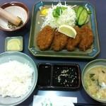 函館 とんき - 特上ロースカツ定食