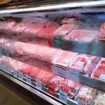 ひらい精肉店 - お肉の様子
