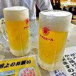 キッチン さわで夢屋 - 生ビール