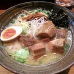 まるめん堂 - 5月10日(金曜)角煮麺(850円)です。