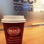 BECK'S COFFEE SHOP - HOTカフェラテ S