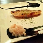 どれ味 - 鰤の西京焼をライチのソースで