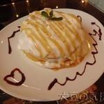 18909952 - ミルクキャラメルパンケーキ(¥700)
