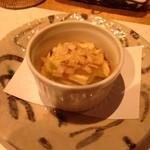 豆腐懐石 くすむら - 冬瓜のミルフィーユ、味噌とチーズとポテト、斬新なメニューでした!お味も美味しゅうございました!
