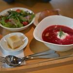 Cafe Ciel - ボルシチプレート