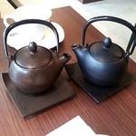 18913621 - 紅茶は鉄瓶で来ます