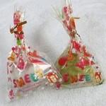 岩井洞 - 料理写真:こんにゃく大福(200円)。ブルーベリーと抹茶