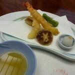 日本料理 竹善 - 天ぷら盛り合わせ