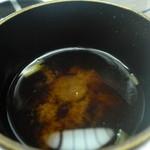日本料理 竹善 - 赤だしもいいお味でした