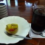 日本料理 竹善 - デザート アイスコーヒー
