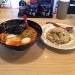 本丸亭 - とんこつ担々麺とチャーハン