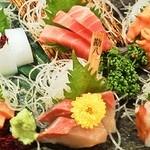 """貝、磯料理 海然 - 当店大人気メニュー! """"魚然盛り"""""""
