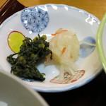 日本料理 松下 - 香物