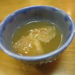日本料理 松下 - グレープフルーツゼリー
