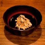 丹波谷 かくりゅう - 切り干し大根の胡麻酢和え 600円