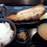 18920134 - ホッケ炭火焼定食900円