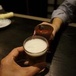 夢市門 - 細君が〆張鶴でなんで私がビールなの?
