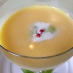18921157 - 赤胡椒がアクセントな五種類のお野菜が入ったスープ