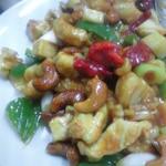 味来斉 - 鳥肉とカシューナッツ炒め