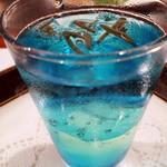 ステーキ懐石都 春日 - お口直し 青と緑の雫