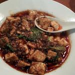 18923271 - 豆腐は絹、葉大蒜と豆鼓の風味が最高!