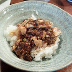 18923274 - 当然麻婆豆腐オンザライス。