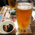 勢 - メガビール850円とお通し