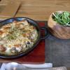 sora cafe 02 - 料理写真:1)焼きカレーセット