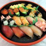 お米屋さんの寿司屋 桜 - 寿司