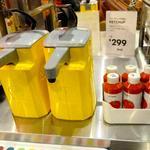 IKEAビストロ - ケチャップ&マスタード 2013.5.12